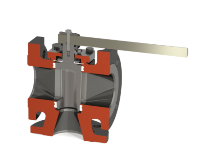 Three Way Plug Valve 3 inches by Crane Nuclear