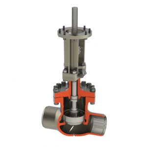Bolted Bonnet Globe Valve 10 Inch by Crane Nuclear